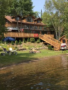 Photo for Windy Lake Year-Round Retreat, year round fun in private bay on skidoo trail.