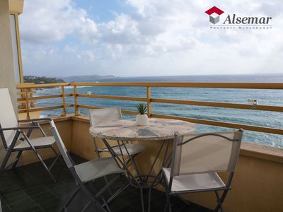 Photo for APARTMENT WITH SPECTACULAR SEA VIEW, WITH WIFI, DOWNTOWN, ON THE BEACH