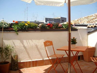 Photo for Central Ursino Apartment 70 sqm -with Terrace