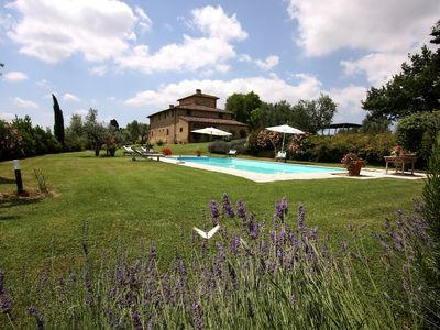 Photo for Archipettoli - a historical manor house with stunning panoramic views
