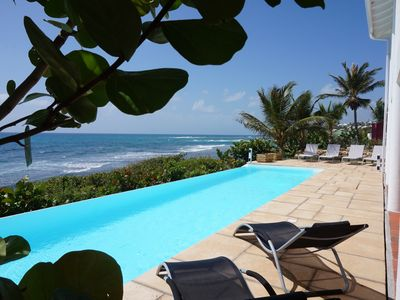 Photo for SUPERB VILLA, 8/10 PEOPLE, PANORAMIC SWIMMING POOL, SPECTACULAR VIEW ON THE SEA
