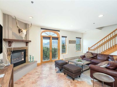 Photo for Stunning 3-Bedroom Condo With Mountain Views, High-End Finishes
