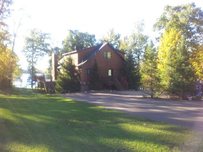 Front Entrance of Lake Home