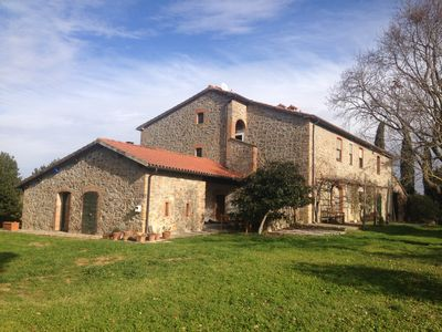Photo for Podere Case Nuove 71, house Ponente • Typical maremma farmhouse at the end of '800