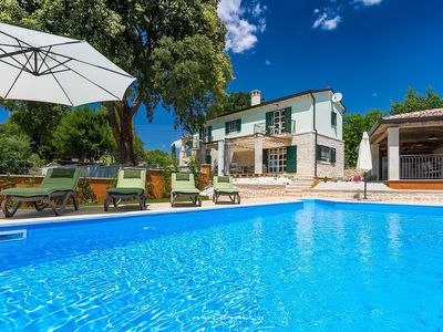 Photo for Charming Istrian villa with private pool