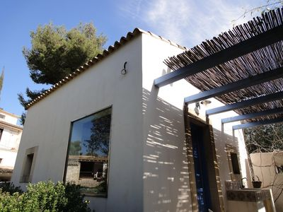 Photo for Detached house, 150 m to a rocky beach, garden, quiet position, WiFi, 4 person