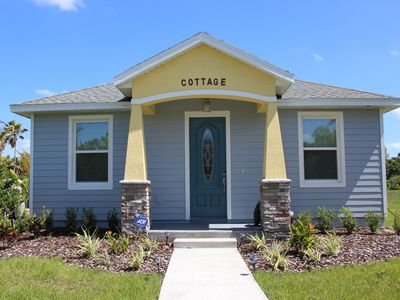 Photo for Brand New 2-Bedroom Cottage With a Large Yard