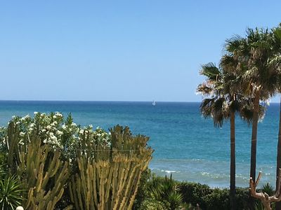 Photo for Authentic Andalusian house-Spectacular view-Direct sea access-Private pool