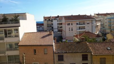 Photo for Large 82m2 apartment 100m from the beach in Fréjus for 4 people + baby