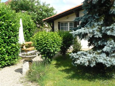Photo for Village house - large enclosed garden - pets welcome - calm and security