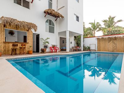 Photo for Carrizalillo beaches premier location 1 block from the beach and top restaurants