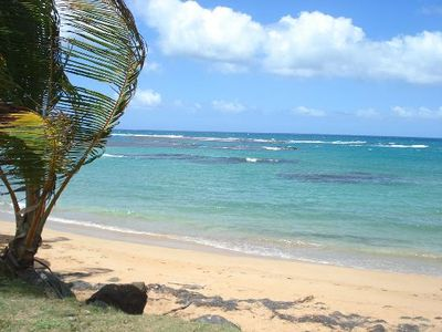 Gorgeous Luquillo beach only 15 minute drive away.