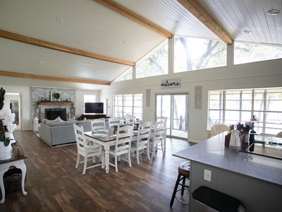 "Photo for Gorgeous newly renovated ""5 Star"" Harbor Lakehouse on Cedar Creek Lake"
