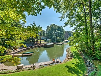 Photo for NEW! House w/Pvt Boat Dock - Steps to Lake Norman!