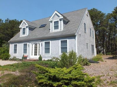 Photo for Attractive 4BR Contemporary Home- Path Overlooking Chipmans Cove and Wellfleet Harbor