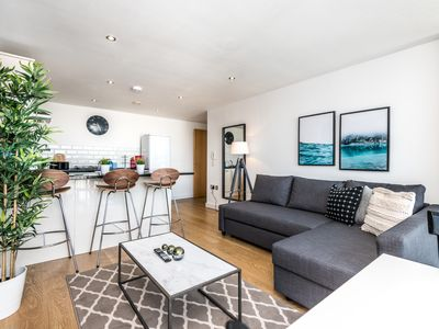 Photo for Stylish PenthouseApt w/Terrace-Garden Sleeps 8!