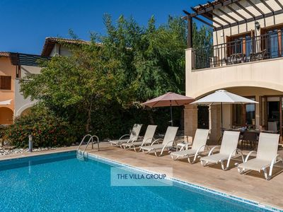 Photo for Kouklia Villa, Sleeps 6 with Pool, Air Con and WiFi