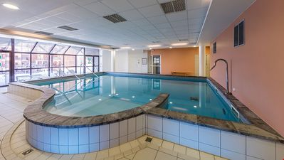 Refresh and relax in the beautiful indoor pool after a day in the mountains (PLEASE NOTE that the pool will be renovated for Summer 2020)!
