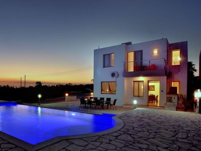 Photo for Pegeia Holiday Home, Sleeps 8 with Pool, Air Con and WiFi