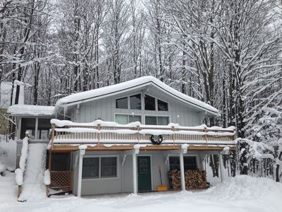 Photo for Charming Ski And Golf Chalet At Schuss Mountain (w/ Wi-Fi)