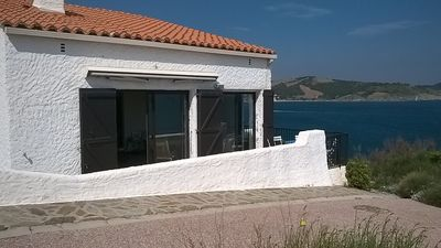 Photo for renovated villa, sea view, terraces in the sun