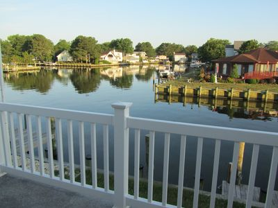 Photo for CANAL FRONT 5 BDRM, 2 KINGS, GOLF, SWIM, TV'S THROUGHOUT  GUESTS 25 YRS OR OLDER
