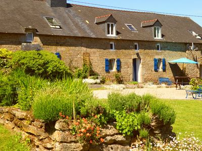 Photo for Adele cottage – lovely, spacious Breton cottage - shared pool, private garden
