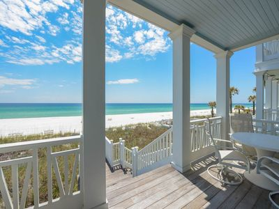 Photo for 3 Bedroom Home on the beach with amazing views! Openings available through 2018