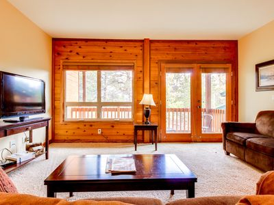 Photo for NEW LISTING! Dog-friendly condo w/jet tub - access to shared hot tub!