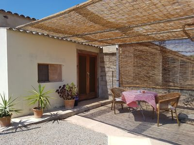 "Photo for Double room ""no. 105"" on finca, AC, pool, breakfast possible, near Es Trenc"