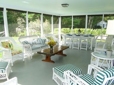 Photo for Vacation in Classic Cape Cod style within walking distance to 2 beaches