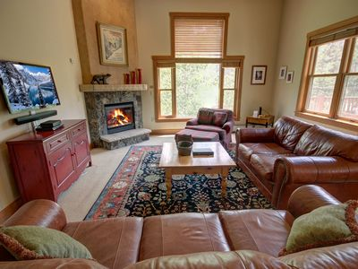 Photo for Huge Deck with Mountain Views at this Red Hawk Townhome by Summitcove Lodging