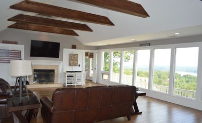 Photo for Luxury 4,600+ sq. ft home w/breathtaking lake and mountain views, Home Theater!