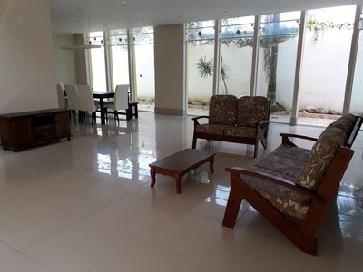 Photo for Townhouse 100 meters from the beach Enseada