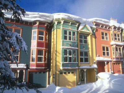 Photo for Golden Sun - 3 Bedroom Townhome with Garage/Laundry/Private Hot Tub Sleeps 10