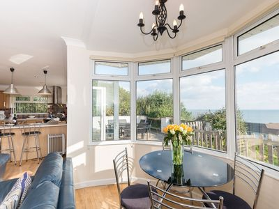 Photo for Pet friendly, modern detached house with beautiful sea views.