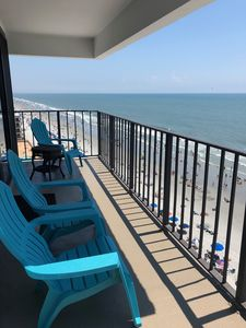 Photo for Beautiful Newly Decorated Penthouse Ocean Front; Horizon East 3 BR3 Bath Condo