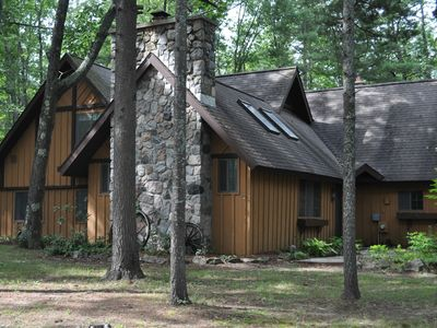 Photo for Interlochen/Unique, 5BR/2BA 2600 sq ft Home in the Woods/14 mi to Traverse City