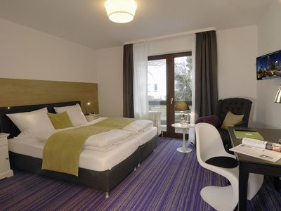 Photo for Wellness deluxe double room with balcony - Hotel zum See *** garni