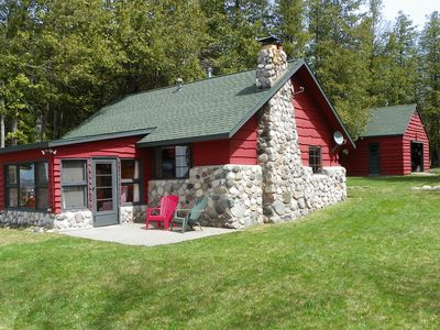 Photo for Spectacular Sunsets/Burt Lake Cottage near Indian River-Sleeps 6 to 8