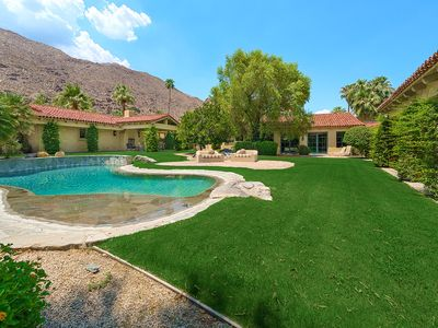 Photo for 'Gillette Palm Springs Estate' 5BR/6BA, Private Luxury Compound, Sleeps 10