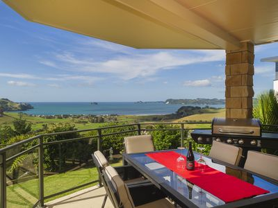 Photo for Panoramic ocean and rural views, 2 bedroom private apartment