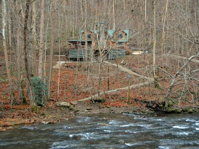 Photo for Nantahala Riverside Cabin-Watershed Cabins-Close to the Nantahala River