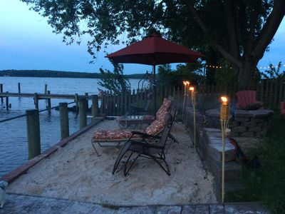 Photo for 3 Bedroom 3.5 Bath Waterfront Home .