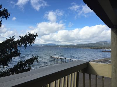 Photo for LAKE FRONT TOWN HOME Labour Day Dates Avail. NOW; Right on The Private Beach !!