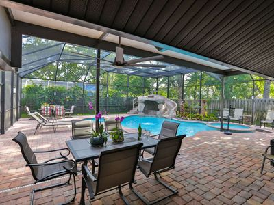 Photo for Beautiful Pool Home with Spa, Outdoor Shower - 5 min to Upscale Shopping, Dining & Golf