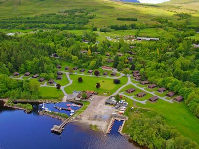Photo for Holiday resort Loch Tay Premium Lodges, Killin  in Perthshire - 8 persons, 4 bedrooms