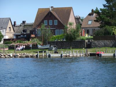 Photo for 80sqm apartment with a view of the Schlei: right on the shore, 10 minutes to the Baltic Sea beach, WiFi