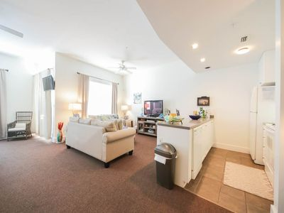 Photo for Cozy studio, Steps to the beach, close to shopping and dining
