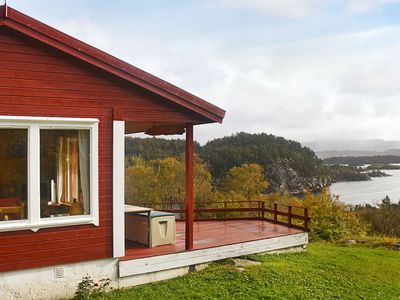 Photo for 5 person holiday home in rubbestadneset